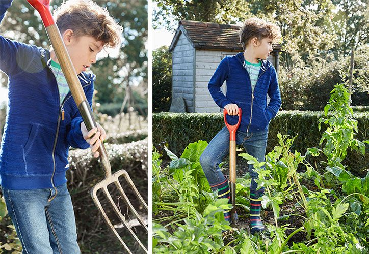 ways to get kids involved in gardening and the outdoors
