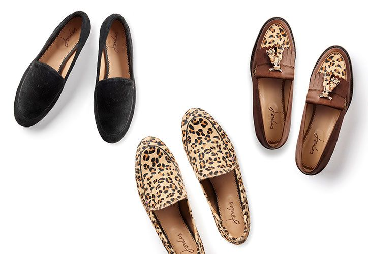 women's leather and suede loafer shoes