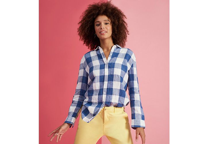 Meet our women's fashion gingham collection