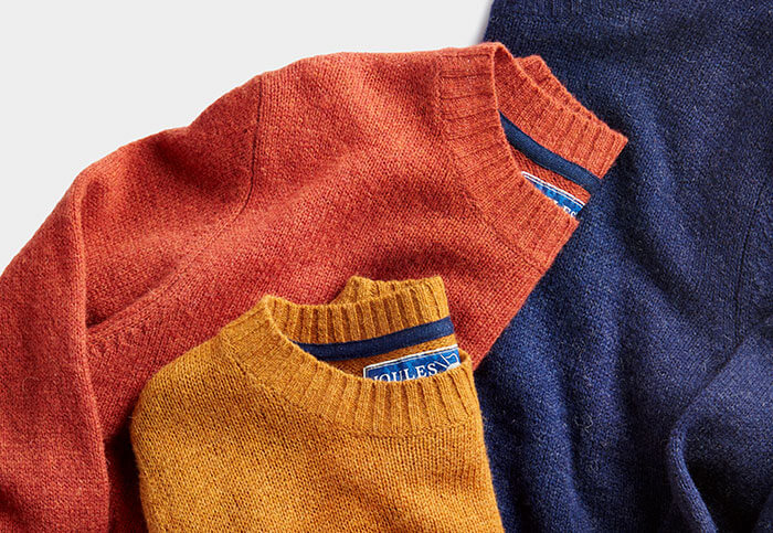 Selection of Joules knitted jumpers