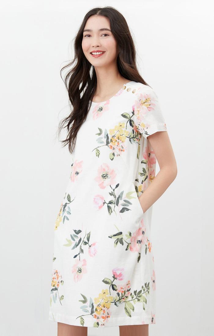 Rosetta shift dress